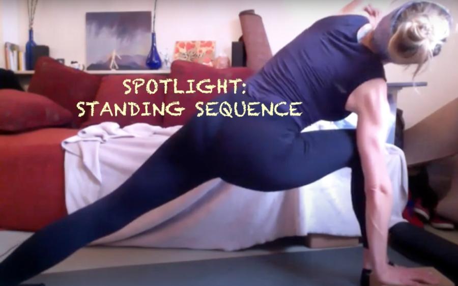Ashtanga Vinyasa Baby Series Standing Sq